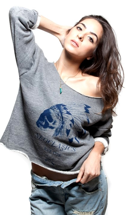 Chief Crop Sweatshirt